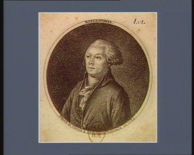 Roberspierre député de l'Artois à l'Assemblée nationale en 1789 : [estampe]
