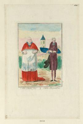 L' Abbé d'autrefois, l'abbé d'aujourd'hui [estampe]