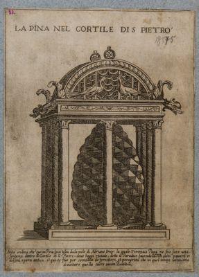 Palazzo Vaticano. Fontana della Pigna