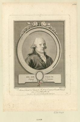 Jos. Sim. Valete deputé de Touraine, né le 13 7.bre 1736 : [estampe]