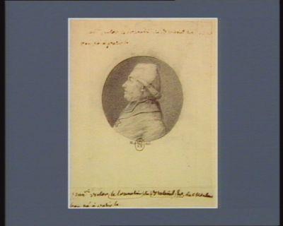Fran.oïs Victor Le Tonnelier de Breteuil év. de Montauban né à <em>Paris</em> le [...] : [dessin]