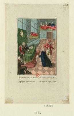 Punition de J.F. Mauri, et couroux de son pere infame aristocrate... tu renie le Tiers état : [estampe]