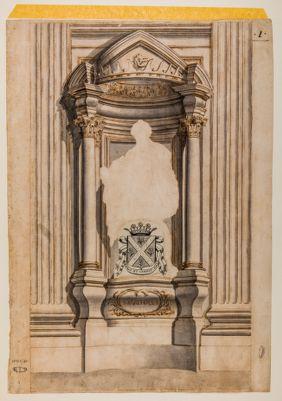 S. Giovanni in Laterano. Edicola borrominiana