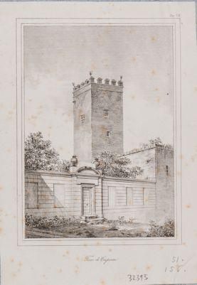 Torre dei Capocci, veduta d'insieme