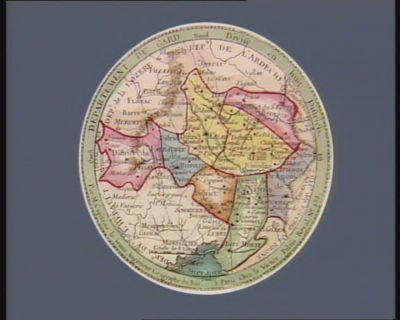 Departement du Gard divisé en huit districts : [estampe]