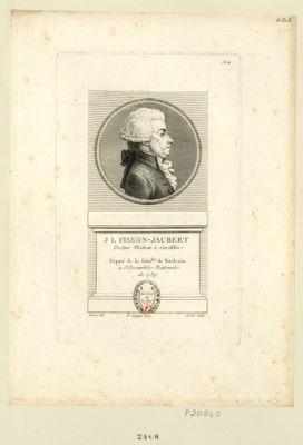 J. L. Fisson-Jaubert docteur medecin à Cardillac. Député de la séné.ssée de Bordeaux à l'Assemblée nationale de 1789 : [estampe]