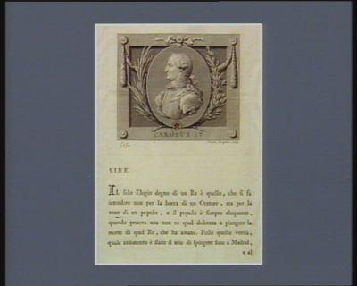 Carolus IV [estampe]