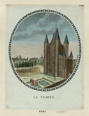 Le  Temple [estampe]