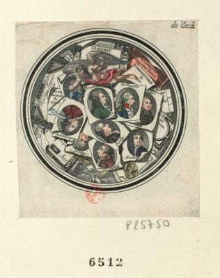 [Portraits des principaux personnages de la Révolution] [estampe]