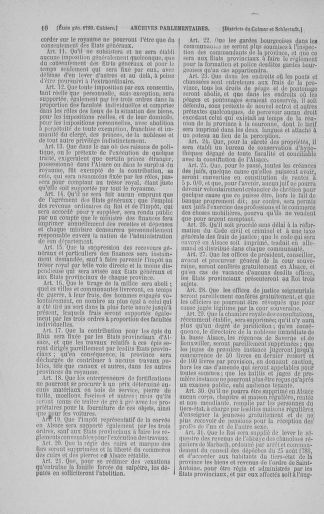 Tome 3 : 1789 – États généraux. Cahiers des sénéchaussées et baillages [Colmar et Schelestadt - Metz] - page 10