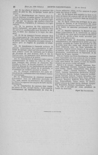 Tome 3 : 1789 – États généraux. Cahiers des sénéchaussées et baillages [Colmar et Schelestadt - Metz] - page 46