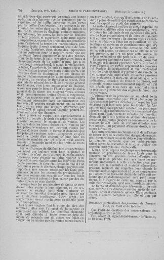 Tome 3 : 1789 – États généraux. Cahiers des sénéchaussées et baillages [Colmar et Schelestadt - Metz] - page 72
