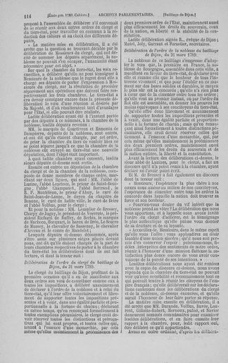 Tome 3 : 1789 – États généraux. Cahiers des sénéchaussées et baillages [Colmar et Schelestadt - Metz] - page 114