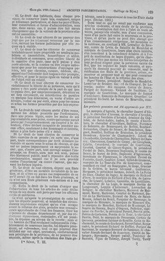 Tome 3 : 1789 – États généraux. Cahiers des sénéchaussées et baillages [Colmar et Schelestadt - Metz] - page 129