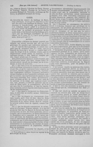 Tome 3 : 1789 – États généraux. Cahiers des sénéchaussées et baillages [Colmar et Schelestadt - Metz] - page 130
