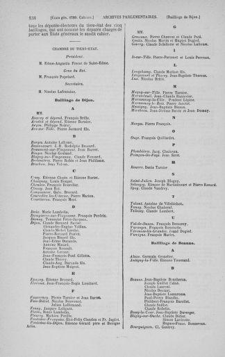 Tome 3 : 1789 – États généraux. Cahiers des sénéchaussées et baillages [Colmar et Schelestadt - Metz] - page 138
