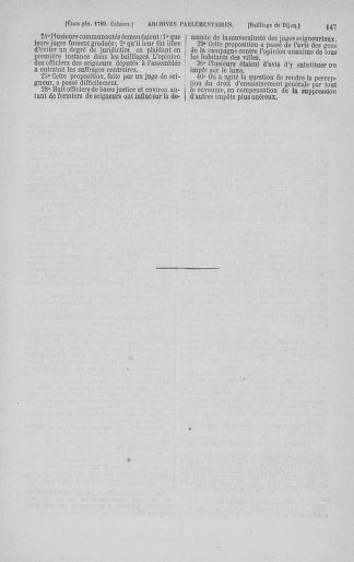 Tome 3 : 1789 – États généraux. Cahiers des sénéchaussées et baillages [Colmar et Schelestadt - Metz] - page 147