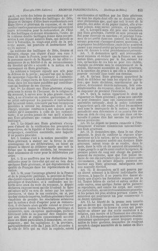 Tome 3 : 1789 – États généraux. Cahiers des sénéchaussées et baillages [Colmar et Schelestadt - Metz] - page 155