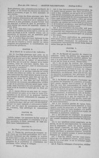 Tome 3 : 1789 – États généraux. Cahiers des sénéchaussées et baillages [Colmar et Schelestadt - Metz] - page 161