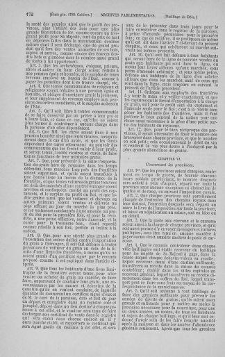 Tome 3 : 1789 – États généraux. Cahiers des sénéchaussées et baillages [Colmar et Schelestadt - Metz] - page 172