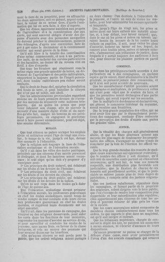 Tome 3 : 1789 – États généraux. Cahiers des sénéchaussées et baillages [Colmar et Schelestadt - Metz] - page 248