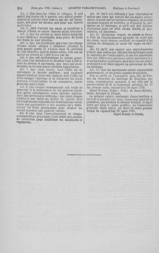 Tome 3 : 1789 – États généraux. Cahiers des sénéchaussées et baillages [Colmar et Schelestadt - Metz] - page 254