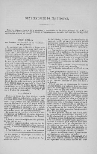 Tome 3 : 1789 – États généraux. Cahiers des sénéchaussées et baillages [Colmar et Schelestadt - Metz] - page 255