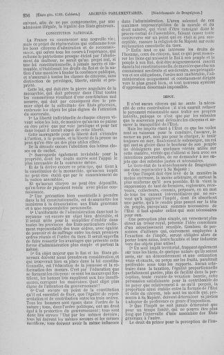 Tome 3 : 1789 – États généraux. Cahiers des sénéchaussées et baillages [Colmar et Schelestadt - Metz] - page 256