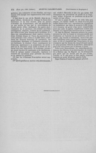 Tome 3 : 1789 – États généraux. Cahiers des sénéchaussées et baillages [Colmar et Schelestadt - Metz] - page 278
