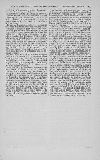 Tome 3 : 1789 – États généraux. Cahiers des sénéchaussées et baillages [Colmar et Schelestadt - Metz] - page 381