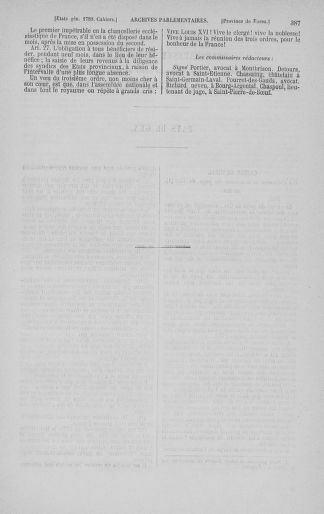 Tome 3 : 1789 – États généraux. Cahiers des sénéchaussées et baillages [Colmar et Schelestadt - Metz] - page 387