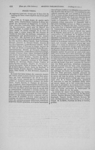 Tome 3 : 1789 – États généraux. Cahiers des sénéchaussées et baillages [Colmar et Schelestadt - Metz] - page 412