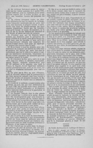Tome 3 : 1789 – États généraux. Cahiers des sénéchaussées et baillages [Colmar et Schelestadt - Metz] - page 427