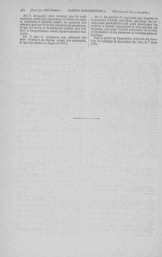 Tome 3 : 1789 – États généraux. Cahiers des sénéchaussées et baillages [Colmar et Schelestadt - Metz] - page 490