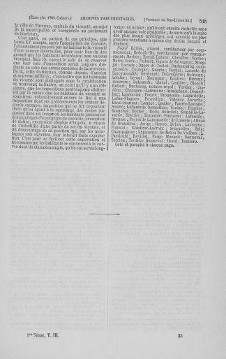 Tome 3 : 1789 – États généraux. Cahiers des sénéchaussées et baillages [Colmar et Schelestadt - Metz] - page 545