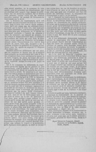 Tome 3 : 1789 – États généraux. Cahiers des sénéchaussées et baillages [Colmar et Schelestadt - Metz] - page 575