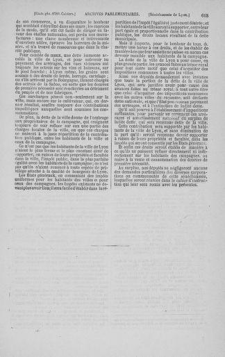 Tome 3 : 1789 – États généraux. Cahiers des sénéchaussées et baillages [Colmar et Schelestadt - Metz] - page 615