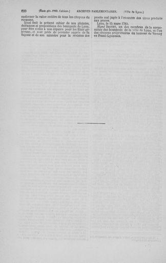 Tome 3 : 1789 – États généraux. Cahiers des sénéchaussées et baillages [Colmar et Schelestadt - Metz] - page 620