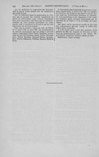 Tome 3 : 1789 – États généraux. Cahiers des sénéchaussées et baillages [Colmar et Schelestadt - Metz] - page 636