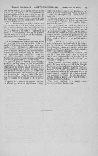 Tome 3 : 1789 – États généraux. Cahiers des sénéchaussées et baillages [Colmar et Schelestadt - Metz] - page 651