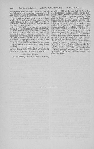 Tome 3 : 1789 – États généraux. Cahiers des sénéchaussées et baillages [Colmar et Schelestadt - Metz] - page 674