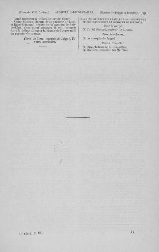 Tome 3 : 1789 – États généraux. Cahiers des sénéchaussées et baillages [Colmar et Schelestadt - Metz] - page 689
