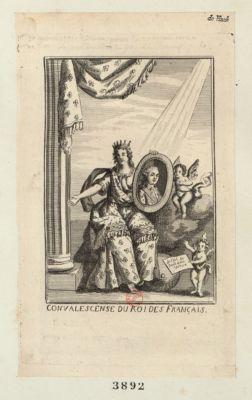 Convalescence du Roi des français [estampe]