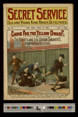 Ching Foo, the Yellow Dwarf; or the Bradys and the Opium Smokers
