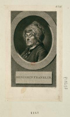 Benjamin Franklin [estampe]