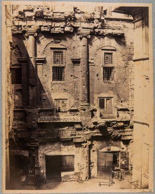 Teatro di Marcello dalla parte di via Sugherari