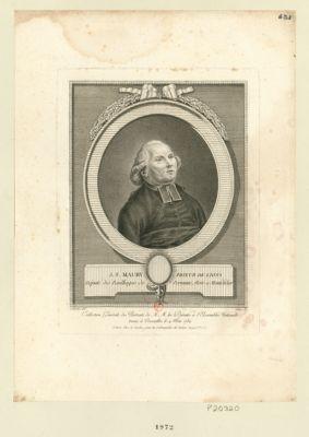 J.F. Maury, prieur de Lions député des bailliages de Peronne, Roie et Montdidier : [estampe]