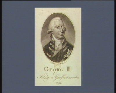 Georg III König v. Grossbritannien 1792 [estampe]