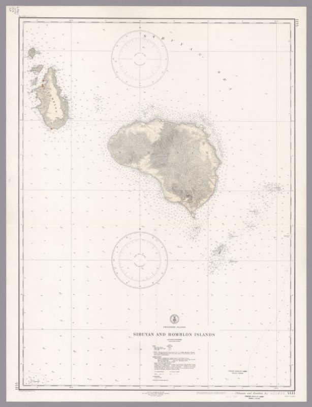 Philippine Islands : Sibuyan and Romblon Islands