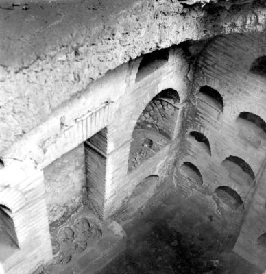 Tomb of Ti. Claudius Vitalis, interior of the second storey